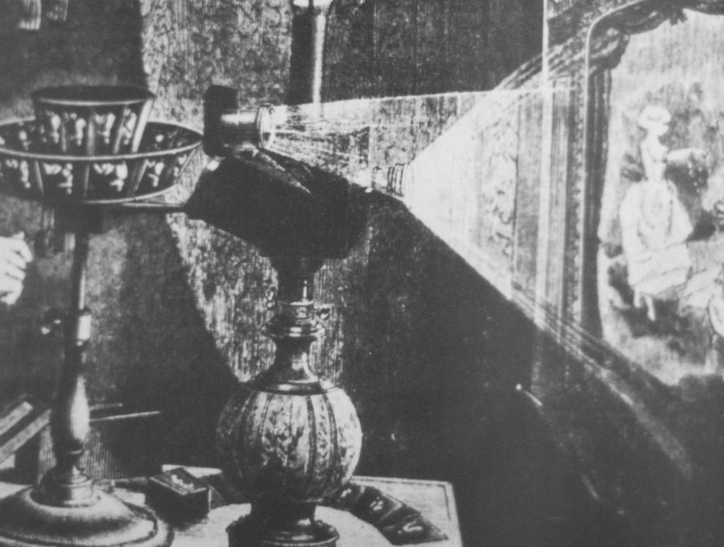 proiettore del 1882